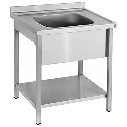 Custom Single Bowl Sink Unit
