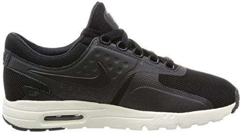 Mujer negro Max Negro sail W Zero Para Air black black De Nike Running Zapatillas q4v8wE