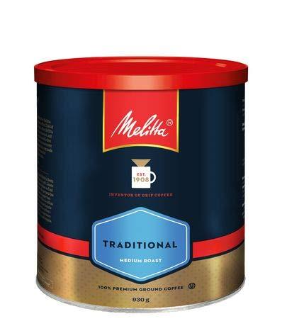 CDM product Melitta Traditional Medium Roast Ground Coffee 930g by Thirsty Jini big image