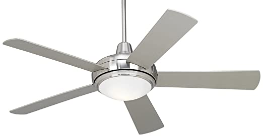 52 casa compass brushed nickel ceiling fan amazon mozeypictures Images