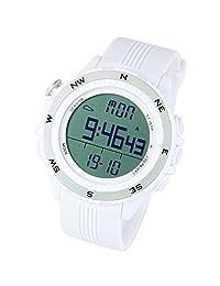 [LAD WEATHER] German Sensor Altimeter/Barometer/Weather Forecast/Digital Compass Outdoor Climbing/Running/Walking Sport Watch