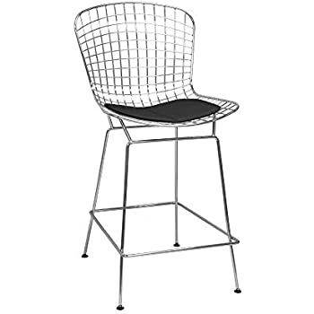 Amazon Com Audrey Collection Wire Bar Stools Set Of 2