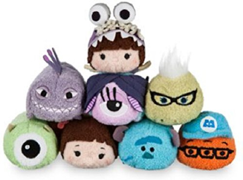 Disney - Monsters, Inc. Mini ''Tsum Tsum'' Plush Collection - Set of (Monsters Inc Costumes Randall)