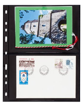Lighthouse OPTIMA 2S Stamp Stock Pages-10 Pages