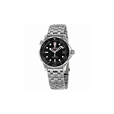 Omega Seamaster Automatic Black Dial Unisex Watch 21230362001002 from Omega