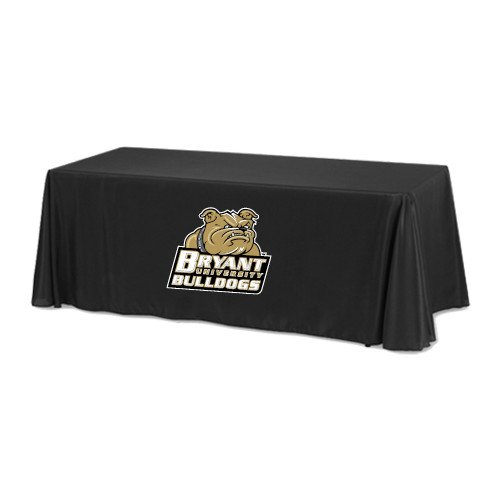 Bryant Black 8 foot Table Throw 'Bryant Official Logo' by CollegeFanGear