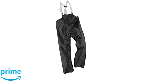 XL Neese Industries Style #60-BT Outworker 60 Heavy Polyurethane//Nylon Oxford Coated Bib Style Trouser Elastic Suspenders Black