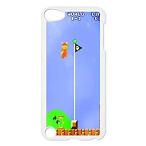 Custom Case Super Mario Bros games PHONE Case For Ipod Touch 5 ZZ29W3473