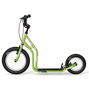 Yedoo New wzoom Green | Niños Roller con neumáticos de aire ...