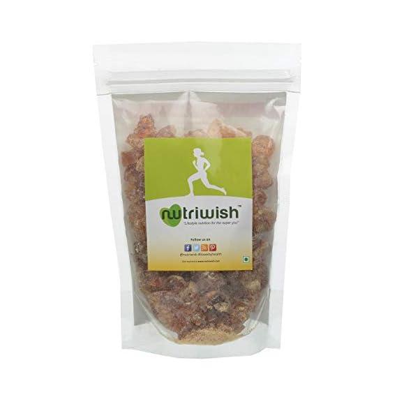 Nutriwish Acacia Gum Dink/Gound, 200g Pouch