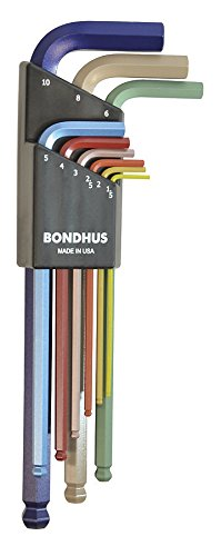 Bondhus-69499-Ball-End-L-Wrench-Set-with-ColorGuard-Finish-9-Piece