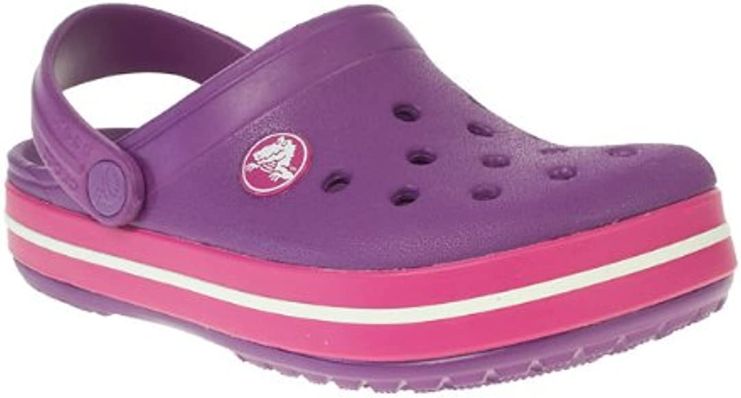 Crocs Girls Kids Purple Crocs Slingback