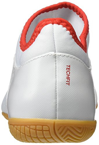 Adidas x Tango 16.3in–Chaussures de Foot en Salle pour Homme, Blanc–(Ftwbla/Ftwbla/rouge) 442/3