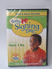 Baby Signing Time Volume 2 Here I Go DVD…