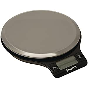 Starfrit Electronic Kitchen Scale, Silver
