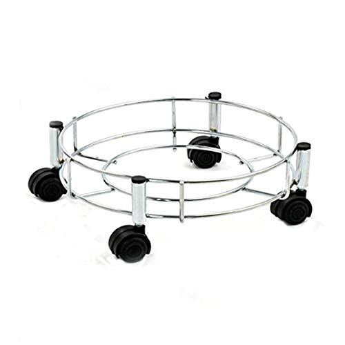 Primelife Stainless Steel Cylinder Trolley Silver Set of (1) Price & Reviews
