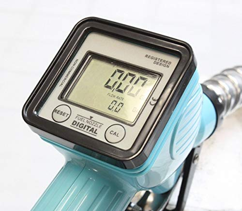 9TRADING Turbine Mechanical Gas Diesel Digital Fuel Nozzle with Accuracy LCD Reading Meter by 9TRADING (Image #1)