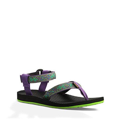 Teva Women's Original Sandal, Old Lizard Purple, 9 M US