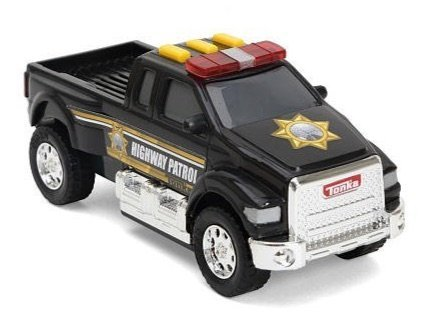 Tonka Lights & Sounds Toughest Minis - Highway Patrol Pickup Truck