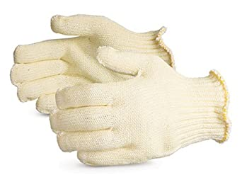 Superior SPGRK/A2D CoolGrip Covered Glass/Aramid Fiber Heat-Resistant Plastic-Injection Mold-Trimming Glove with Both Sides PVC Dotted, Work, Cut Resistant, Small (Pack of 1 Pair)