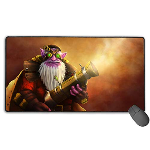 Defense of The Ancients 2 Extended Gaming Mouse Mat/Pad - Large, Wide (Long) Mousepad, (Every Heroes Has One) (Best Sniper Items Dota 2)