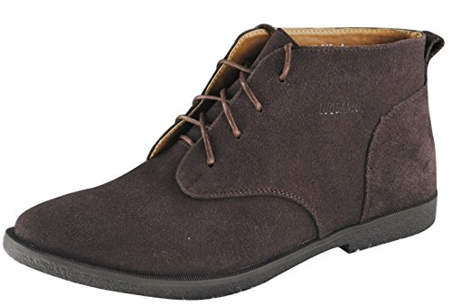 iLoveSIA Men's Casual Suede Leather Desert Boots Walking Chukka Shoes