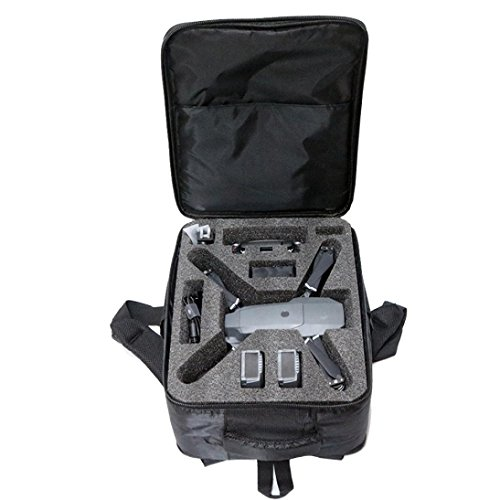 OVERMAL Light Backpack Shoulder Carry Bag Case For DJI Mavic PRO Drone Accessory Black by OVERMAL