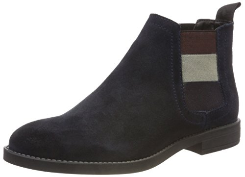 Bottes Bleu Boot Tommy Chelsea 403 Femme Essential Midnight Jeans twqZ7