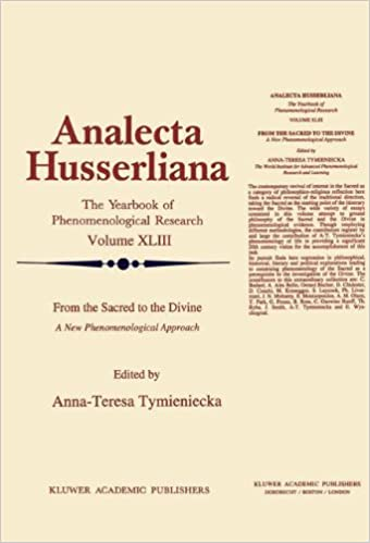 From the Sacred to the Divine: A New Phenomenological Approach (Analecta Husserliana)