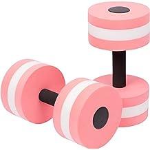 MLOVE One Pair EVA Aquatic Exercise Dumbbells for For Water Aerobics
