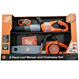 Home Depot The 2 Pack Leaf Blower and Chainsaw Set