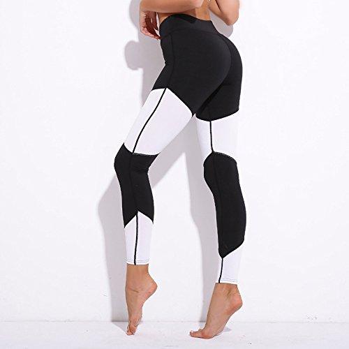 MAYUAN520 Leggings pour patchwork sportswear push up slim pantalons femme athleisure fitness sport legging élastique