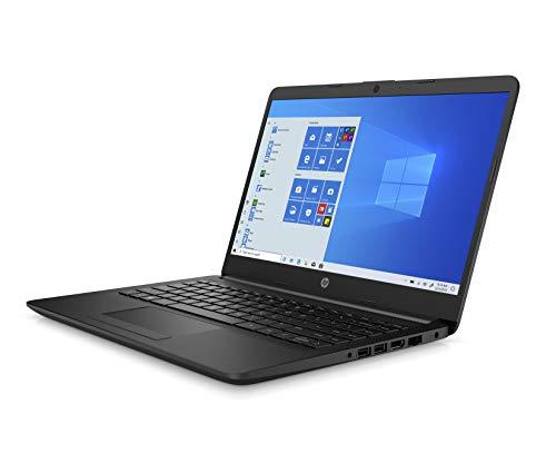 HP 14 Ultra Thin & Light 14-inch Laptop (10th Gen i3-1005G1/8GB/256GB SSD/Win 10 Home/MS Office/1.47 Kg/Jet Black), 14s-cf3074TU