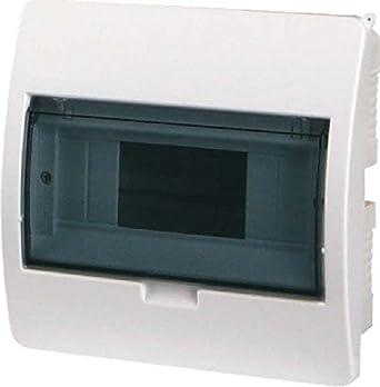 EATON BC-U-1/8-ECO Caja de Empotrar, Grado de Protección IP40, Transparente Puerta, 8UM, 19.5cm x 19.5cm x 10.5cm: Amazon.es: Industria, empresas y ciencia