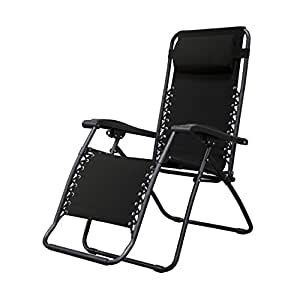 Caravan Sports Infinity Zero Gravity Chair Black  sc 1 st  Amazon.com & Amazon.com: Caravan Sports Infinity Zero Gravity Chair Black ...