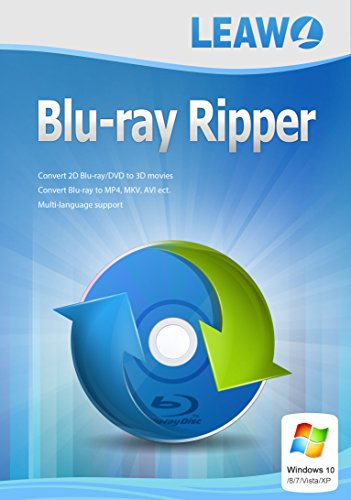 Best Blu-ray Ripper for Windows- Fast Rip Blu-ray/DVD to Video/Audio in any formats like Blu-ray to MP4, Blu-ray to AVI, Blu-ray to MOV, etc. (1 Year)