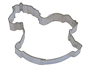 """R&M Rocking Horse 4"""" Cookie Cutter in Durable, Economical, Tinplated Steel"""
