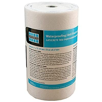 "Laticrete Waterproofing Membrane Fabric - 6"" x 75' Roll"