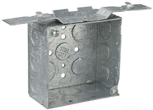 Thomas /& Betts CCQ66SDS2.5 4X4X2-1//8 Squareuare Box
