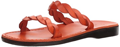 Sandal Orange Women's Jerusalem Sandals Slide Joanna qUwCZ1xa