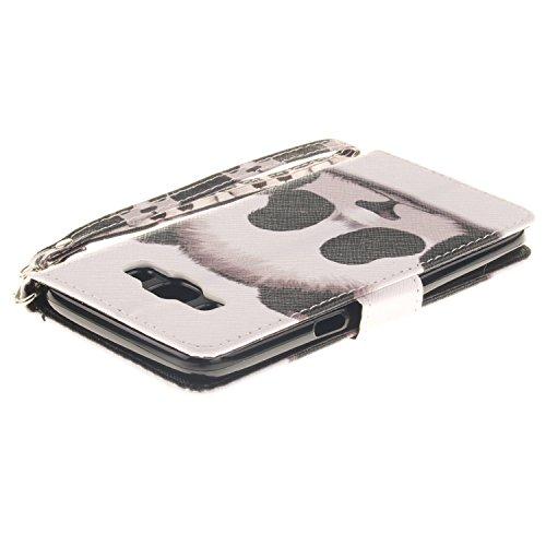 J510 para Carcasa estampado diseño J5 Samsung elemento polvo de 7 Laoke y 2 2016 eliminar silicona el rosa Galaxy policarbonato para conector vx7nBnw
