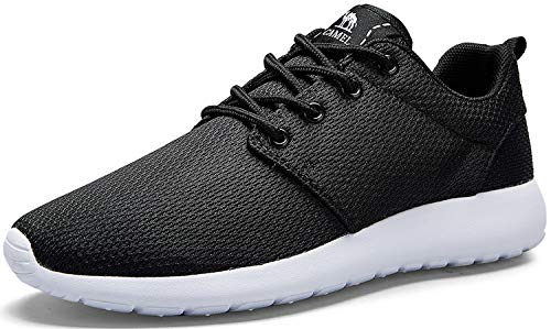 Camel Men's Sneakers Lightweight Breathable Trail Running Shoes Fashion Walking Athletic Shoes,Balck,9 D(M) - Camel Gem