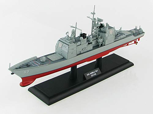 USS Mobile Bay (CG-53) Ticonderoga Class Guided Missile Cruiser 1/700 Die-Cast Scale Model - Hobby Master Sea Power Series HSP1002 ()