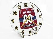 NHL National Hockey League - Eastern Conference - Atlantic Division Jersey Desktop Clocks - Free Customization