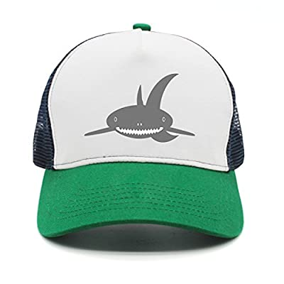 Cute Cartoon Shark Fashion Mesh Cap Peak Cap Trucker Hat