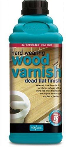 - Polyvine Interior Wood Varnish Dead Flat Hard Wearing (Pint)