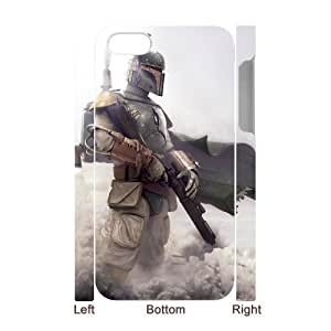 C-EUR Diy hard Case Star Wars Warrior customized 3D case For Iphone 4/4s