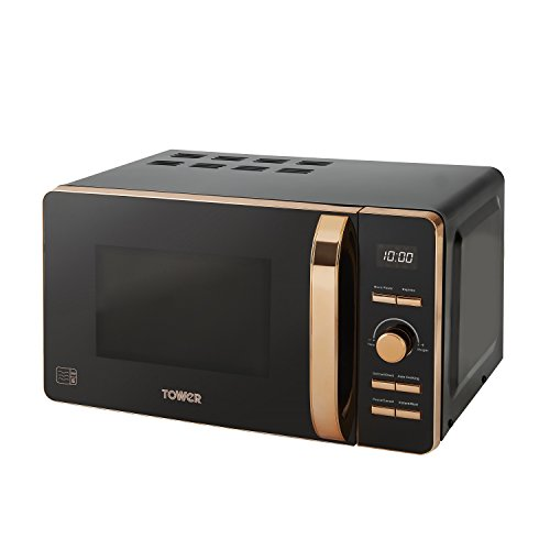 Tower Rose Gold Microwave, 20 Litres