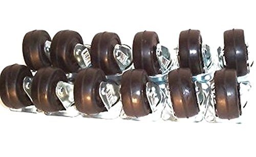 CASTER WHEELS-12 pcs 2