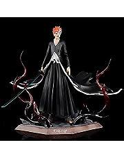 Bleach Anime Kurosaki Ichigo Figuur, PVC Standbeeld Model, Decoratie Standbeeld Gift Anime Accessoires Desktop Ornamenten Speelgoed, 28 cm